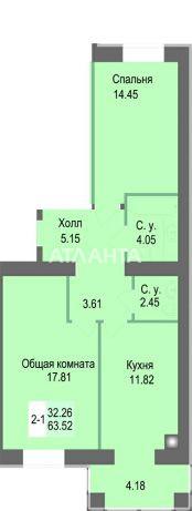 Продается 2-комнатная Квартира на ул. Соборная — 47 000 у.е. (фото №8)
