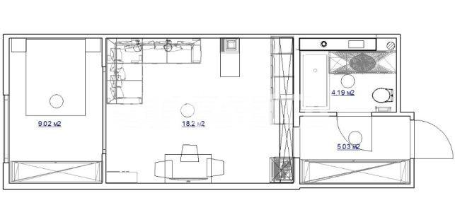 Продается 1-комнатная Квартира на ул. Ул. Максимовича — 68 000 у.е. (фото №7)