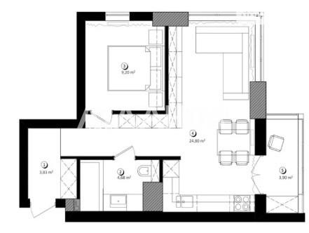 Продается 1-комнатная Квартира на ул. Ул. Феодосийская — 76 700 у.е. (фото №7)