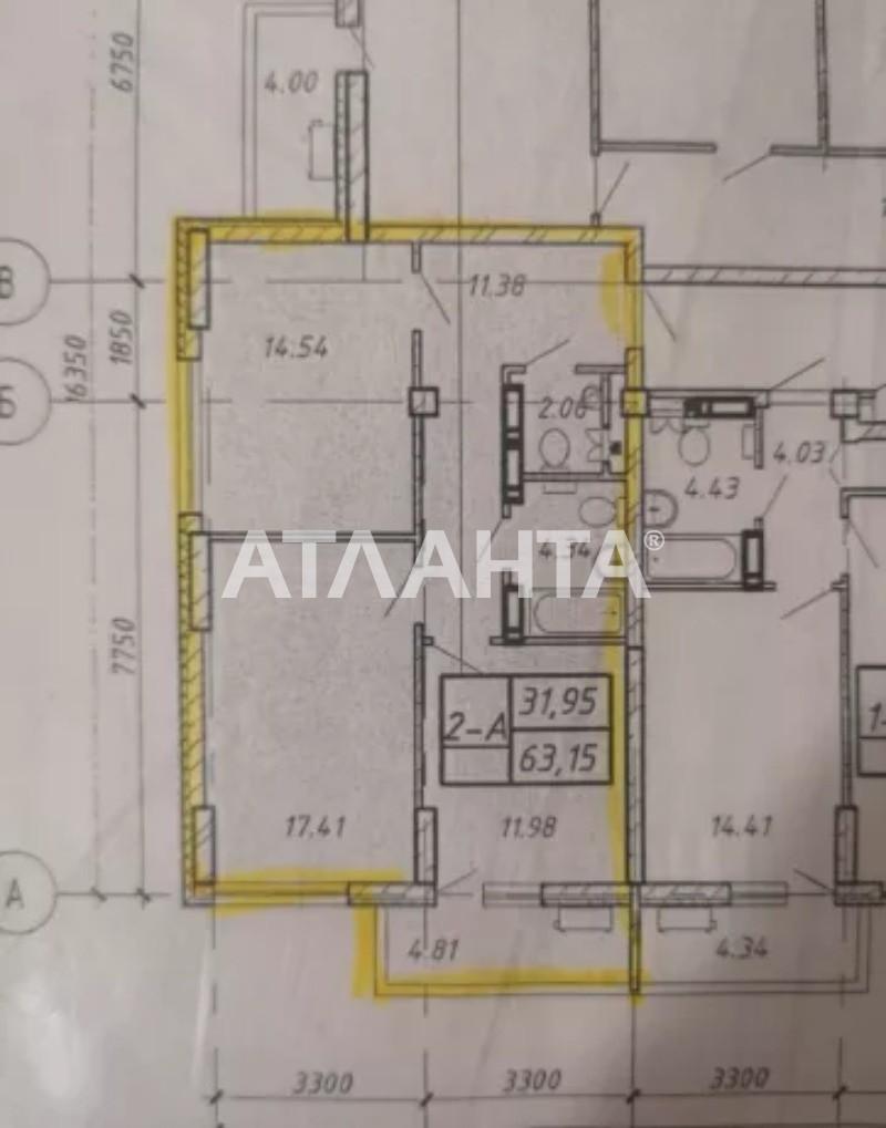 Продается 2-комнатная Квартира на ул. Ул. Дубинина — 78 200 у.е. (фото №4)